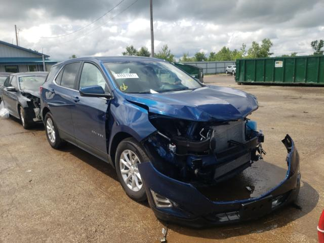 Salvage cars for sale from Copart Pekin, IL: 2021 Chevrolet Equinox LT