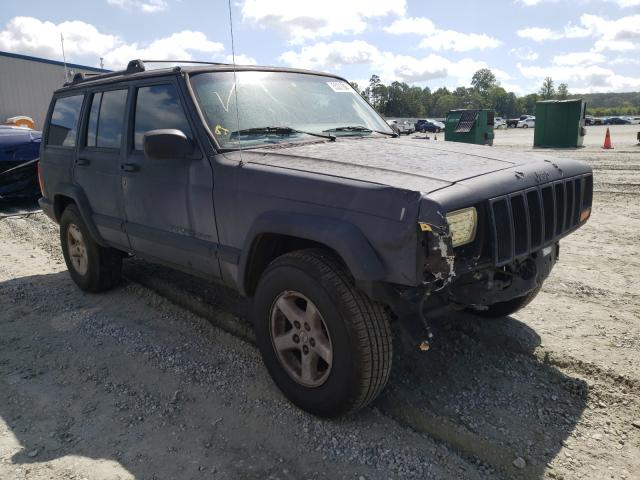 Salvage cars for sale from Copart Spartanburg, SC: 1999 Jeep Cherokee S