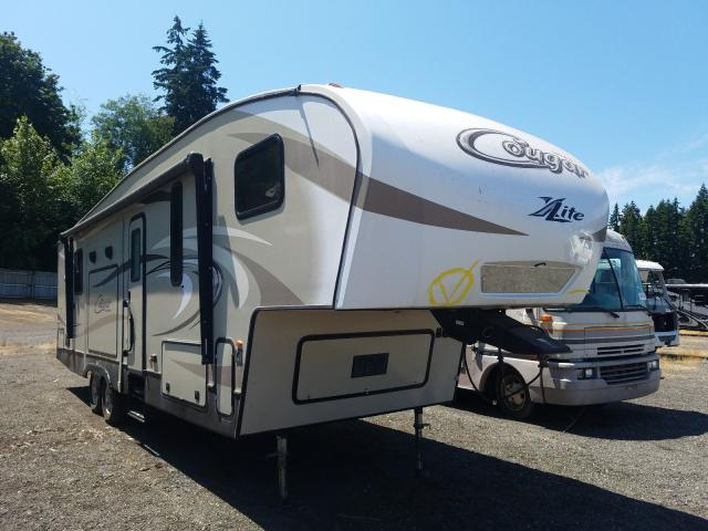 Salvage cars for sale from Copart Arlington, WA: 2018 Keystone Cougar LIT