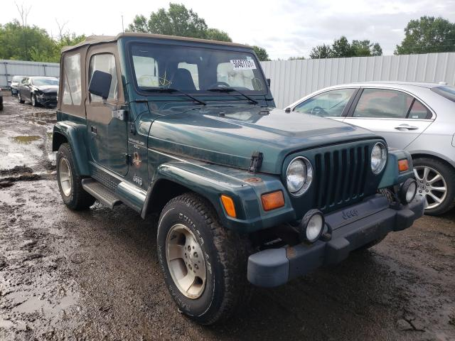 Jeep Wrangler salvage cars for sale: 1999 Jeep Wrangler