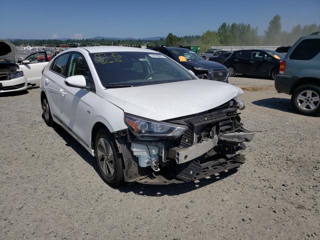 Vehiculos salvage en venta de Copart Arlington, WA: 2019 Hyundai Ioniq SEL