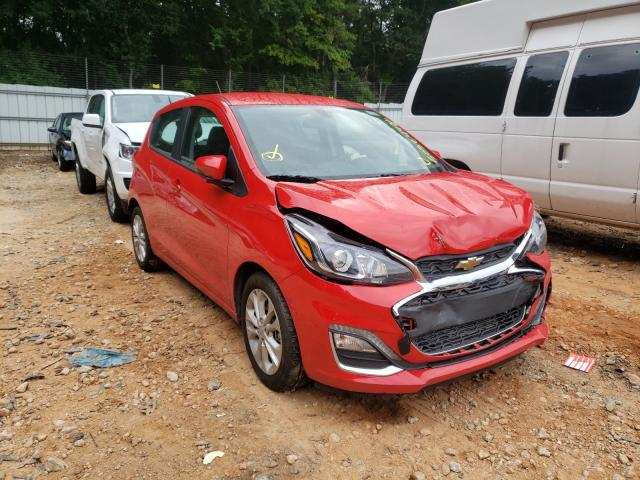 Salvage cars for sale from Copart Austell, GA: 2020 Chevrolet Spark 1LT