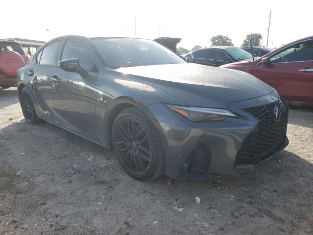 Salvage cars for sale from Copart Riverview, FL: 2021 Lexus IS 350 F-S