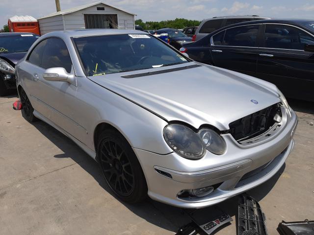 Mercedes-Benz salvage cars for sale: 2003 Mercedes-Benz CLK 55 AMG