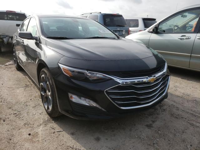 Salvage cars for sale from Copart Houston, TX: 2021 Chevrolet Malibu LT