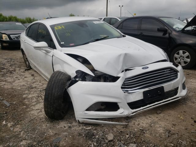 Salvage cars for sale from Copart Indianapolis, IN: 2016 Ford Fusion SE