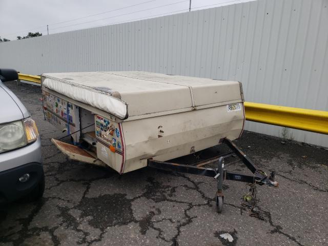Coleman salvage cars for sale: 1988 Coleman Travel Trailer