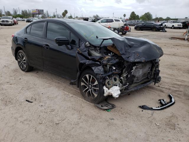 Salvage cars for sale from Copart West Palm Beach, FL: 2014 Honda Civic EX