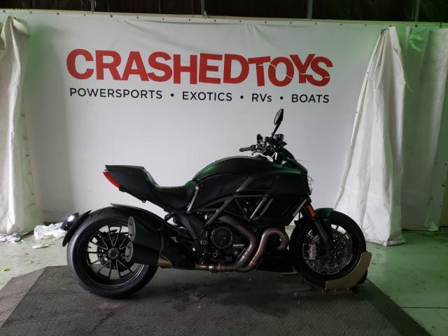 Ducati salvage cars for sale: 2015 Ducati Diavel