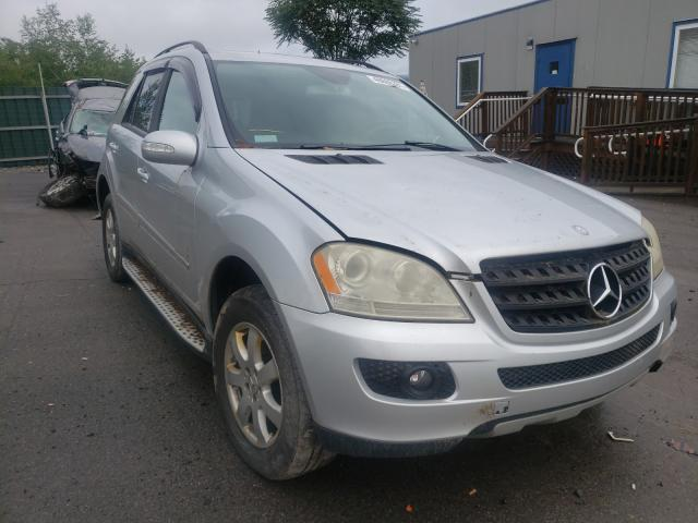 Salvage cars for sale from Copart Duryea, PA: 2006 Mercedes-Benz ML 350