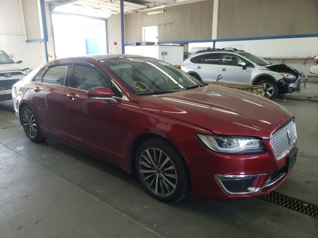 Salvage cars for sale from Copart Pasco, WA: 2017 Lincoln MKZ Hybrid