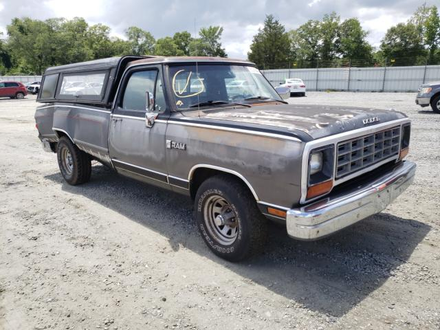 Salvage cars for sale from Copart Spartanburg, SC: 1989 Dodge D-SERIES D