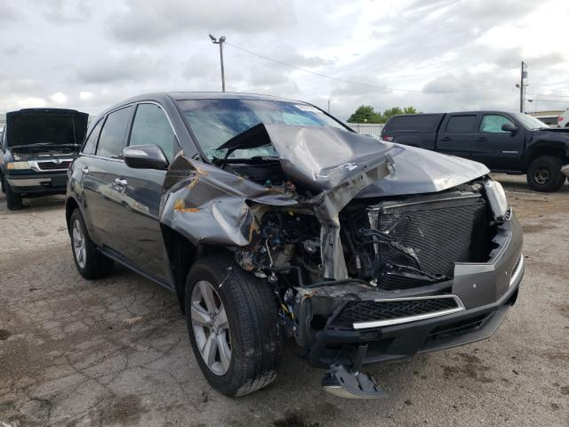 Salvage cars for sale from Copart Lexington, KY: 2012 Acura MDX Techno