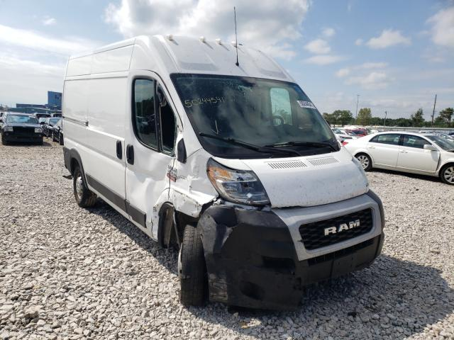 Salvage trucks for sale at Des Moines, IA auction: 2019 Dodge RAM Promaster