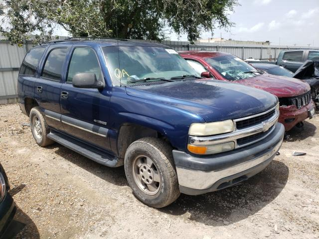 Vehiculos salvage en venta de Copart Mercedes, TX: 2002 Chevrolet Tahoe K150