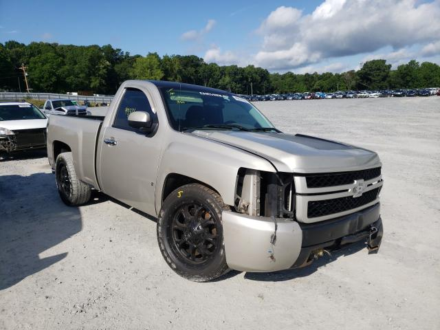 Salvage cars for sale from Copart Gastonia, NC: 2008 Chevrolet Silverado