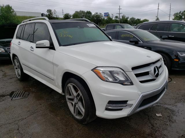 Salvage cars for sale from Copart Woodhaven, MI: 2014 Mercedes-Benz GLK 350