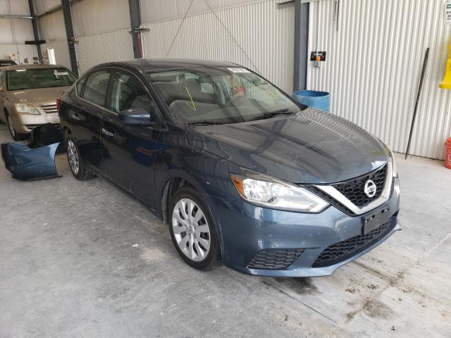 Salvage cars for sale at Greenwood, NE auction: 2016 Nissan Sentra S