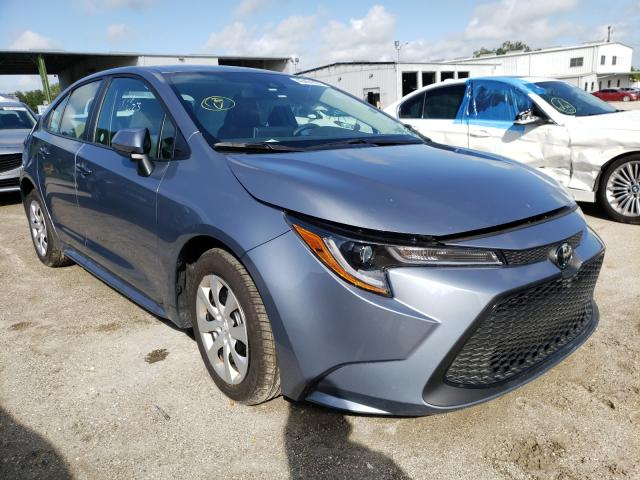 Salvage cars for sale from Copart Riverview, FL: 2021 Toyota Corolla LE