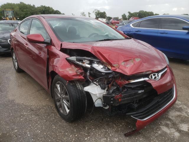 Hyundai Elantra salvage cars for sale: 2015 Hyundai Elantra