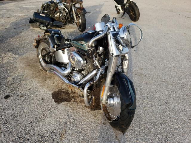 Salvage cars for sale from Copart Houston, TX: 2009 Harley-Davidson Flstf