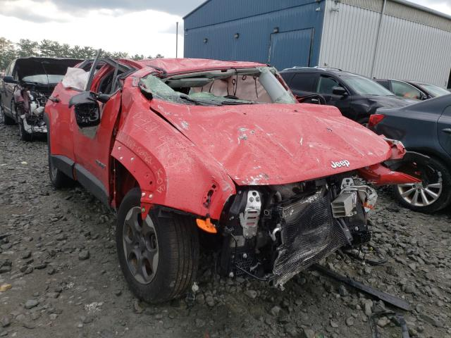Salvage cars for sale from Copart Windsor, NJ: 2015 Jeep Renegade S
