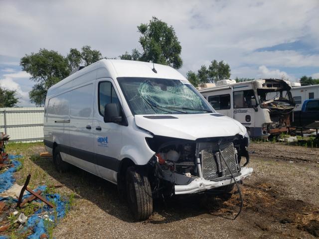 Salvage trucks for sale at Pekin, IL auction: 2020 Mercedes-Benz Sprinter 2