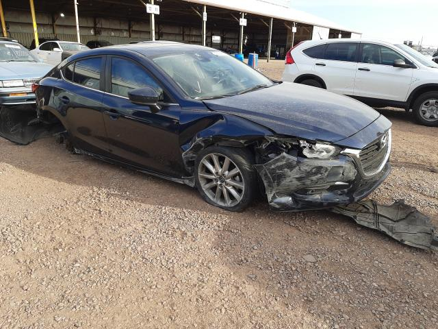 Mazda salvage cars for sale: 2017 Mazda 3 Grand Touring