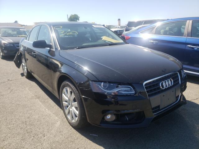 Vehiculos salvage en venta de Copart Martinez, CA: 2010 Audi A4 Premium