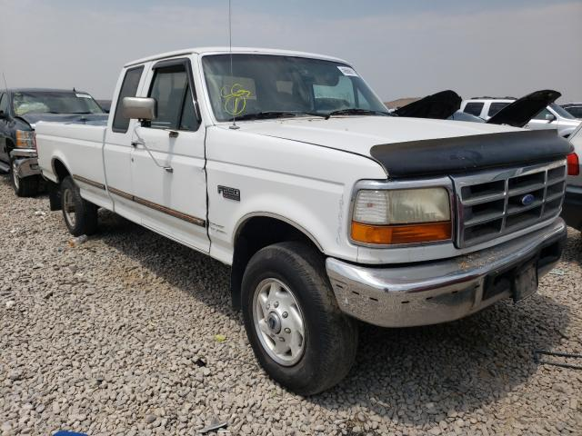 Ford F250 salvage cars for sale: 1996 Ford F250