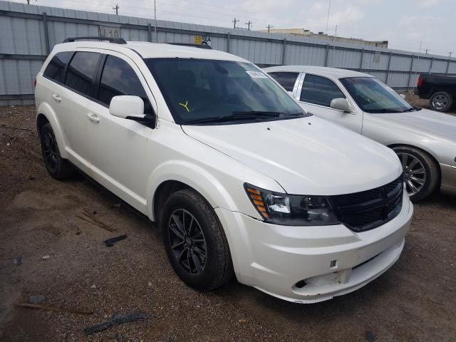 Salvage cars for sale from Copart Mercedes, TX: 2018 Dodge Journey SE