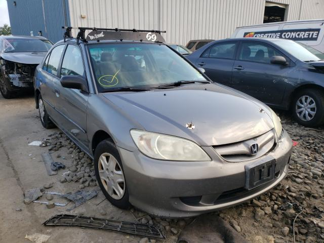 Salvage cars for sale from Copart Windsor, NJ: 2005 Honda Civic DX V