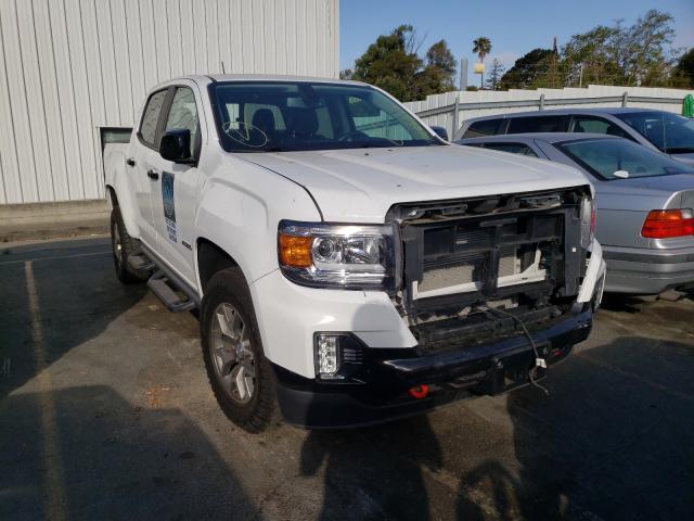Vehiculos salvage en venta de Copart Vallejo, CA: 2021 GMC Canyon AT4