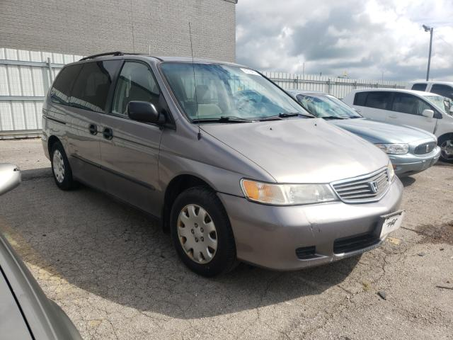 Salvage cars for sale from Copart Lexington, KY: 2001 Honda Odyssey LX