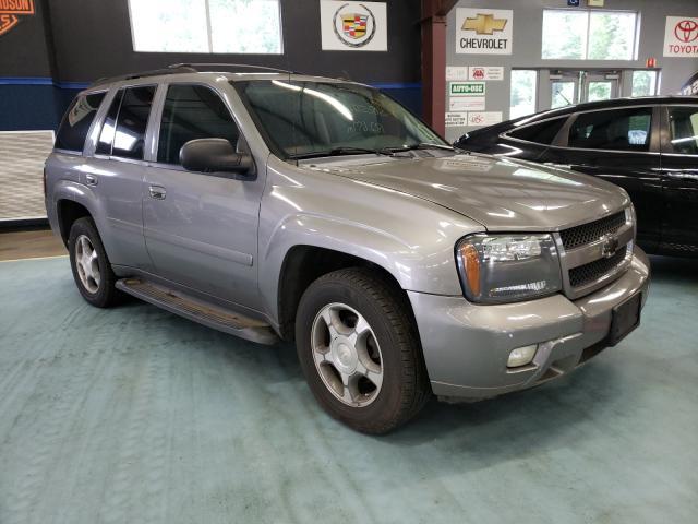 Chevrolet Trailblazer salvage cars for sale: 2008 Chevrolet Trailblazer