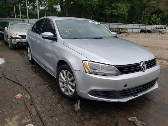 Salvage cars for sale from Copart Austell, GA: 2011 Volkswagen Jetta SE