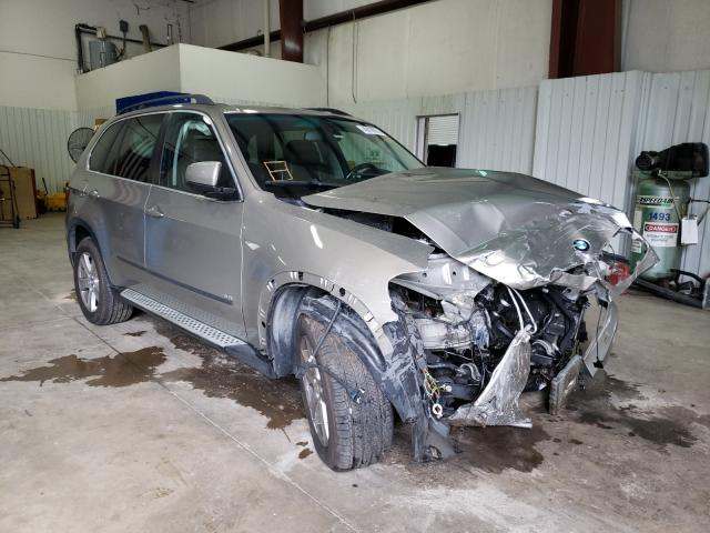 Salvage cars for sale from Copart Lufkin, TX: 2007 BMW X5 4.8I