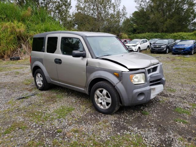 Salvage cars for sale from Copart Kapolei, HI: 2003 Honda Element EX