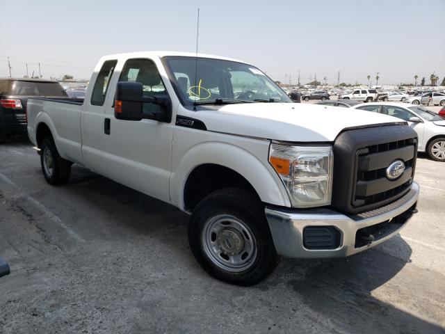 Salvage cars for sale from Copart Sun Valley, CA: 2012 Ford F250 Super