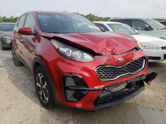 Salvage cars for sale from Copart Houston, TX: 2021 KIA Sportage L