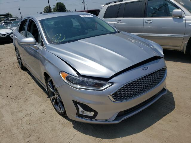 Salvage cars for sale from Copart Los Angeles, CA: 2020 Ford Fusion Titanium