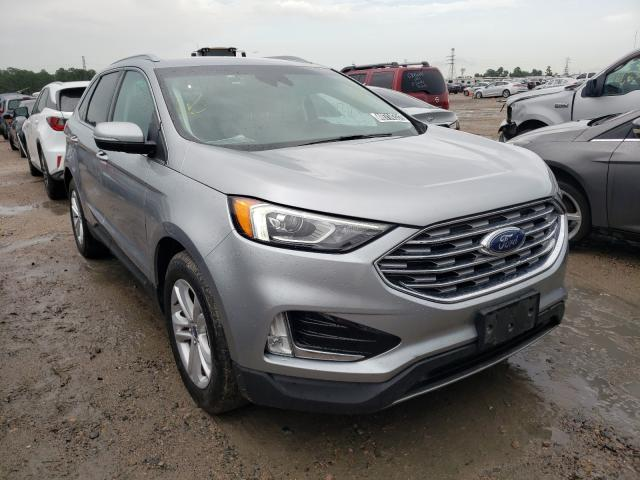 Salvage cars for sale from Copart Houston, TX: 2020 Ford Edge SEL