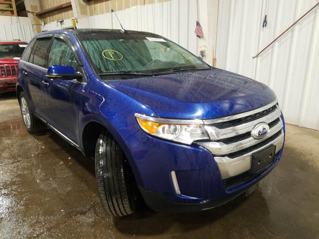 Salvage cars for sale from Copart Anchorage, AK: 2013 Ford Edge Limited
