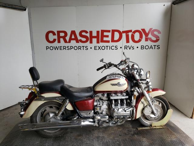 Salvage cars for sale from Copart Kansas City, KS: 1998 Honda GL1500 CT