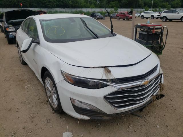 Salvage cars for sale from Copart Davison, MI: 2020 Chevrolet Malibu