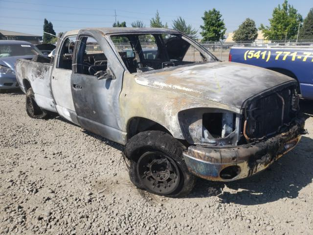 Salvage cars for sale from Copart Eugene, OR: 2007 Dodge RAM 2500 S