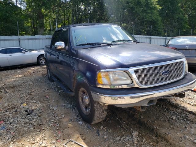 Vehiculos salvage en venta de Copart Austell, GA: 2002 Ford F150 Super