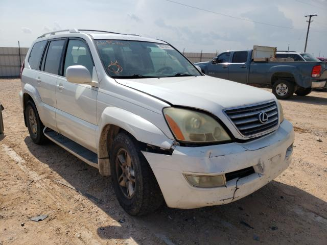 Salvage cars for sale at Andrews, TX auction: 2003 Lexus GX 470