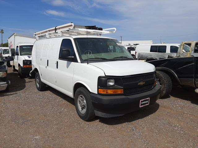 Salvage cars for sale from Copart Phoenix, AZ: 2017 Chevrolet Express G2