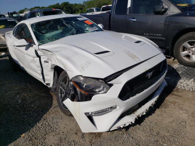 Salvage cars for sale from Copart Jacksonville, FL: 2020 Ford Mustang GT